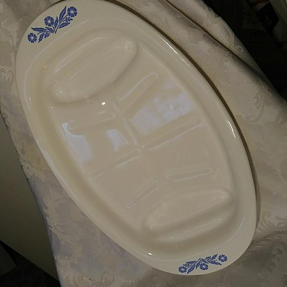 corningware Other - Vintage Corningware Sunflower Blue Roasting Dish